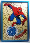 RARE Vintage 1978 THE AMAZING SPIDER MAN 30 x 20 Poster Size Wall Clock Marvel