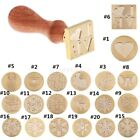 MagiDeal Seal Stamp Sealing Wax Wooden Handle for Xmas Party Invitation Cards