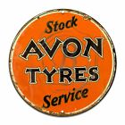 Stock Avon Tyres  Service Design (Reproduction) 12