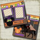 DISNEY Boo To You 2 Premade Scrapbook Halloween Pages EZ Layout 2367