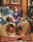 Holiday Homecoming Quilt Pattern Pieced Applique MV