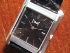 Vintage Piaget 18K White Solid Gold 18 Jewels movement Thin