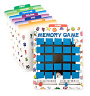 Flip to Win Travel Memory Game Melissa and Doug Wooden Game Board Double Sided