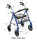 Drive Rollator Model 10257 Replacement Parts  *NEW*  Free Shipping