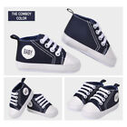 HOT Baby Girls Boys Canvas Anti Slip Prewalker Casual Crib Shoes Sneakers 9 12M
