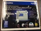 Brother Full Size Sewing Machine LS2250PRW Project Runway 20 Stitch Functions
