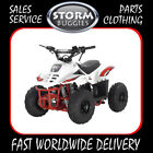 Mikro 70cc Kids off road Quad Bike White STORM BUGGIES  QUADS