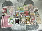 GREAT DEAL Lot of GIRL scrapbooking materials stickers embellishments