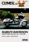 CLYMER SERVICE MANUAL BOOK HARLEY FLHTCUI ULTRA CLASSIC FUEL INJECTION 1999-2005