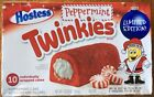 Hostess Limited Edition Peppermint Twinkies 10 Count Box Expires Dec 04 2017