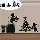 Removable Art Vinyl Wall Stickers Home Room Decal Decoration Love Mouse Hole HOT