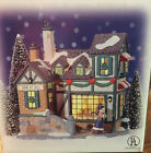 HOLIDAY EXPRESSIONS GLASS WINDOW HOUSE SEW IT ALL