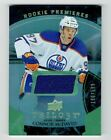 2015-16 UD Trilogy Rookie Premiers Connor McDavid Jersey RC Level 1 MINT 196 599