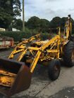 fordson major digger whitlock   jcb 3c