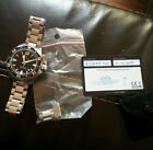 Hamilton Frogman H776050 Automatic Mens Watch With Links and Warranty Card