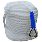 300Twisted Three Strand Nylon Anchor Line Rope Boat with Thimble 15344 oz