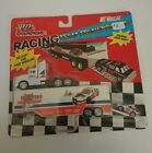 Racing Champions Team Transporters W Mini Micro Car Hooters Loy Allen NASCAR NWT