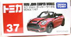 37 Takara Tomy Tomica 1/64 Mini John Copper Works Diecast Car Toy Red