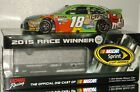2015 KYLE BUSCH #18 M&M'S CRISPY SONOMA WIN AUTOGRAPHED 1/24 CAR#247 OF 721 MADE