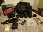 Pre owned Canon EOS Rebel T5i 180MP with Extra Lenses