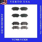 Front & Rear Brake Pads Fit Toyota Camry 2005-2006 4 Cylinders & 6 Cylinders LE