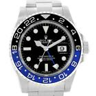 Rolex GMT Master II Batman Blue Black Bezel Mens Watch 116710