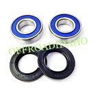 FRONT AXLE WHEEL BEARING SEAL KIT SUZUKI GSX-R1000 2001 2002 2003 2004 GSXR1000