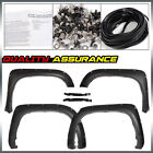 Fit For Toyota Tundra 2014 2020 Pocket Rivet Style Fender Flares Smooth Black