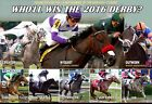 2016 KENTUCKY DERBY HOPEFULS WHOLL WIN IT THIS YEAR COMMEMORATIVE POSTER