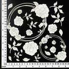 Chipboard Embellishments for Scrapbooking String Circles Roses 64070