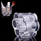 NEW Flower Cosmetic Clear Acrylic Makeup Drawers Brush Holder Case Box Storage