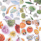 Korean Trees Weather Food Scrapbooking Stickers Decor Sticker DIY Craft Diary