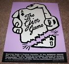 The Gin Game Bathhouse Theatrue Seattle 1995 poster Art Chantry