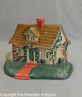 Antique Cast Iron Cape Cod Cottage Doorstop