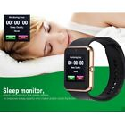 Latest Bluetooth Smart Watch with Camera Text Call Mic for iPhone X 8 Samsung