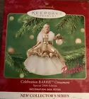 "Hallmark keepsake Holiday ""Celebration Barbie"" Ornament Special 2000 Edition NIB"