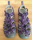 Keen Whisper Purple Gray Sport Athletic Hiking Waterproof Sandals Womens sz 75