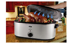 Oster Roaster Oven Roasting Pot Slow Cooker Stainless Steel Self Basting Baking