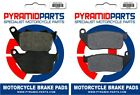 Front & Rear Brake Pads for Harley Davidson XL 50 50th Aniv Sportster 2007