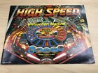 High Speed Pinball Nintendo NES Video Game Manual Only