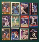 1987 Topps Bo Jackson #170 Rookie Card in Lot of 12 Cards - WOW!!!!