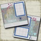 DISNEY Best Day Ever 2 Premade Scrapbook Pages EZ Layout 2499