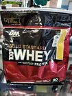 Optimum Nutrition Gold Standard 100% Whey Protein 90 Servings 6lbs