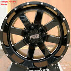 4 New 20 Wheels Rims for Ford E Series Vintage Sedan Coupe Jeep CJ5 4WD 29047