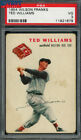 1954 Wilson Franks Ted Williams PSA 3 VG POP 12