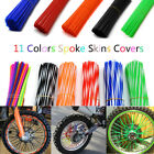 72PCS Spoke Skins Covers Motocross Dirt Bike Wheel Rim Spoke Wraps Skins Co