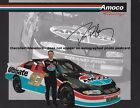 DAVE BLANEY AUTOGRAPHED 1999 AMOCO ULTIMATE PONTIAC RACING NASCAR PHOTO POSTCARD