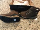 NEW Merrell Alpine Boys Waterproof Leather Hiking Boot Brown Size 10M