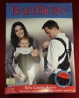 Baby Bjorn Active Carrier Black and Red With Lumbar Support 8-26 lb.