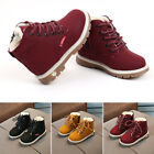 Winter Warm Martin Ankle Boots Toddler Baby Kids Boy Girl Leather Sneakers Shoes